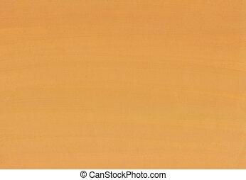peinture, orange, résumé, fond