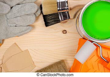 Rouleaux ensemble fonctionnement cuir outils travail - Rouleau peinture effet cuir ...
