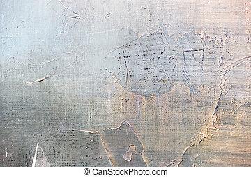 peinture, résumé, huile, closeup, détail