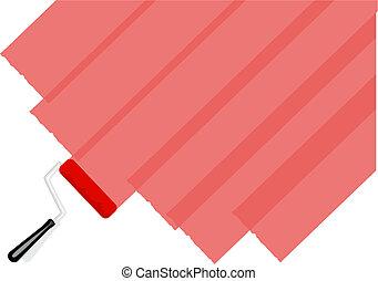 peinture, rouges
