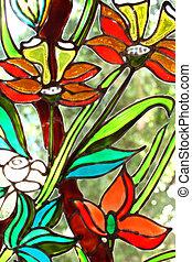 peinture, vitraux