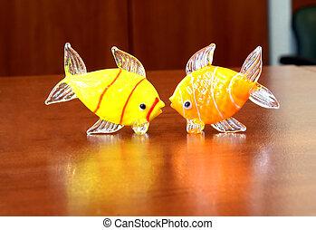 peixe, brinquedos