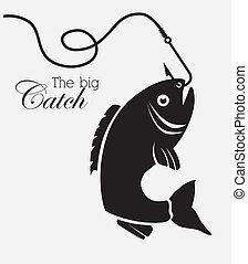 peixe, desenho