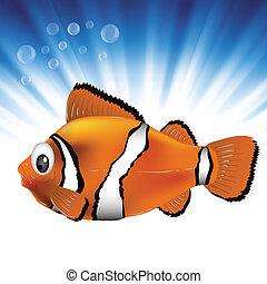 peixe, mar