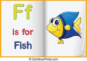 peixe quadro, livro