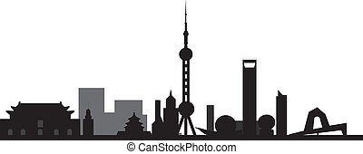 peking Beijing skyline