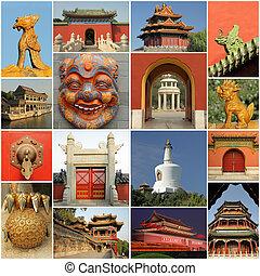 pekingese collage, China