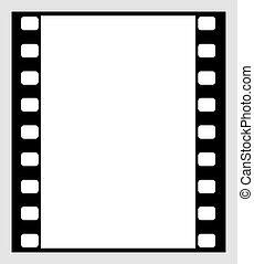 película 35mm, faixa