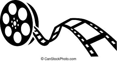 película, carrete película