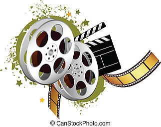 película, elementos