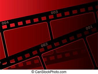 película, fundo