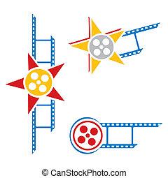 película, símbolos