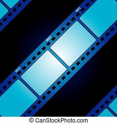 película, seamless, textura