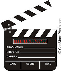 película, tablilla, abierto, digital