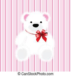 pelúcia, brinquedo, urso