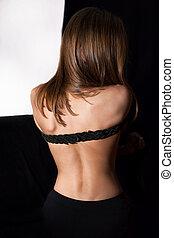 pelada, costas