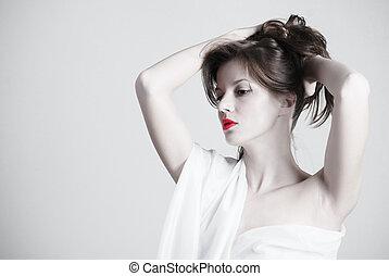 pelado, beleza