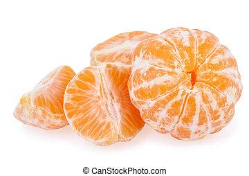 pelado, mandarina