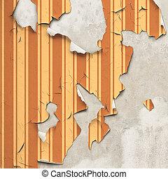 peler, papier peint