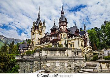 peles, transylvania, rumänien, -, sinaia, hofburg