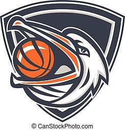 Pelican Basketball In Mouth Shield Retro