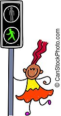 learning the highway code - toddler art series