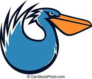 Pelican vector illustration
