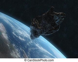 peligroso, asteroide