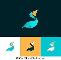 pelikan, logo
