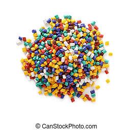pellets, plastic