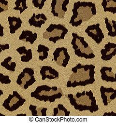 pelliccia, leopardo, (skin), struttura, fondo, o