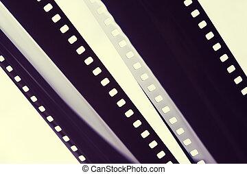 pellicola fotografica, striscia