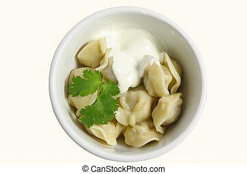 Pelmeni - Russian food