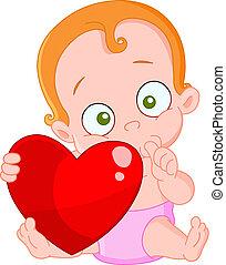 pelo rojo, nena, valentine