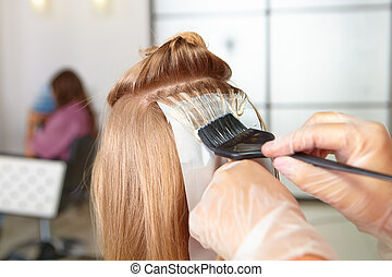 pelo, salon., coloring.
