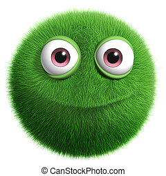 peloso, mostro verde