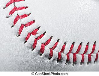 pelota, beisball, detalle