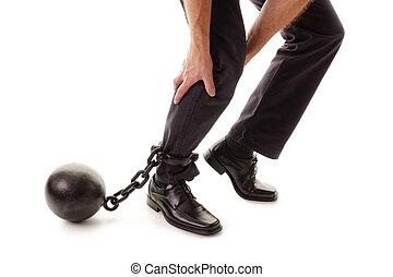 pelota cadena