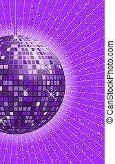 pelota club, púrpura