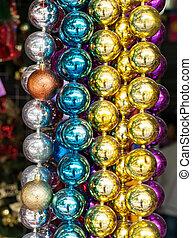 pelota, colorido, macro, resumen, decoration., fondo.,...