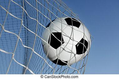 pelota del fútbol