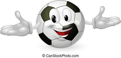 pelota del fútbol, hombre