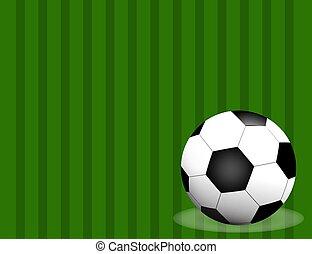 pelota, espacio, fútbol, text., aislado, /, campo, plano de fondo, futbol, su