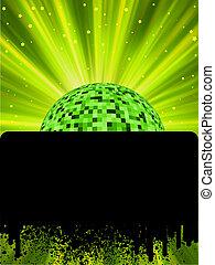 pelota, explosión, cartel, disco, eps8, rays.