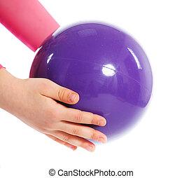 pelota, gimnástico