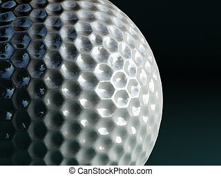 pelota, golf, plano de fondo