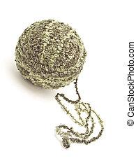 pelota, lana