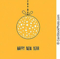 pelota, navidad, estrellas