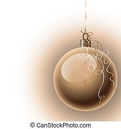 Pelota, navidad, Plano de fondo