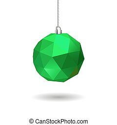 pelota, verde